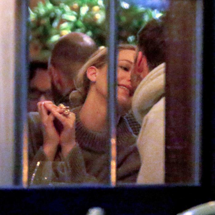 Jennifer Lawrence con su novio