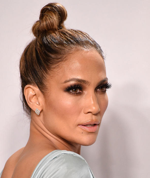 Jennifer Lopez durante los American Music Awards 2015