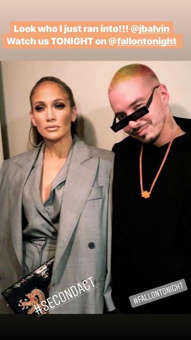 Jennifer Lopez con J Balvin