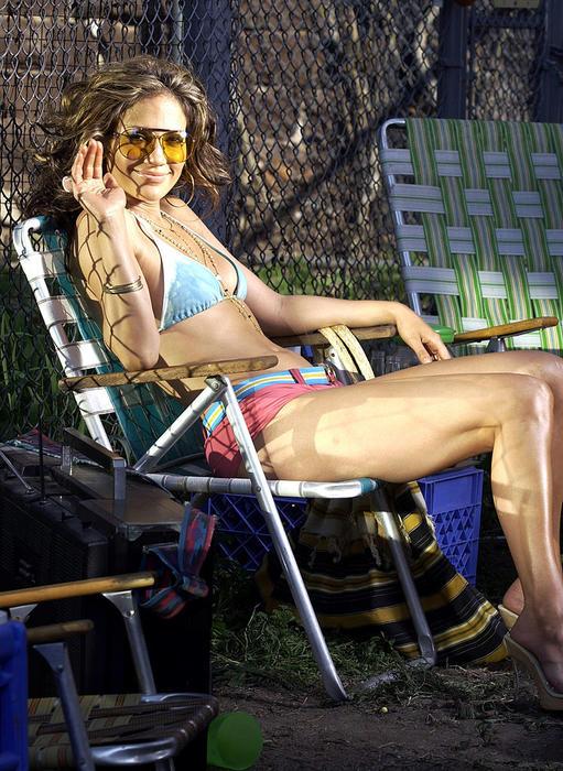 "Jennifer Lopez grabando el video ""I'm Gonna Be Alright"""