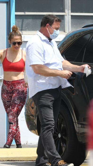 Jennifer Lopez en el gym