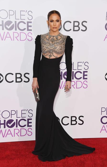 Jennifer Lopez en los People's Choice Awards 2017