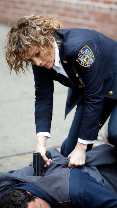 """Jennifer Lopez grabando """"Shades of Blue"""""""