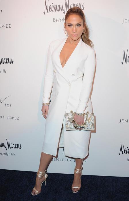 Jennifer Lopez And Giuseppe Zanotti Celebrate Their New Shoe Collaboration - Arrivals