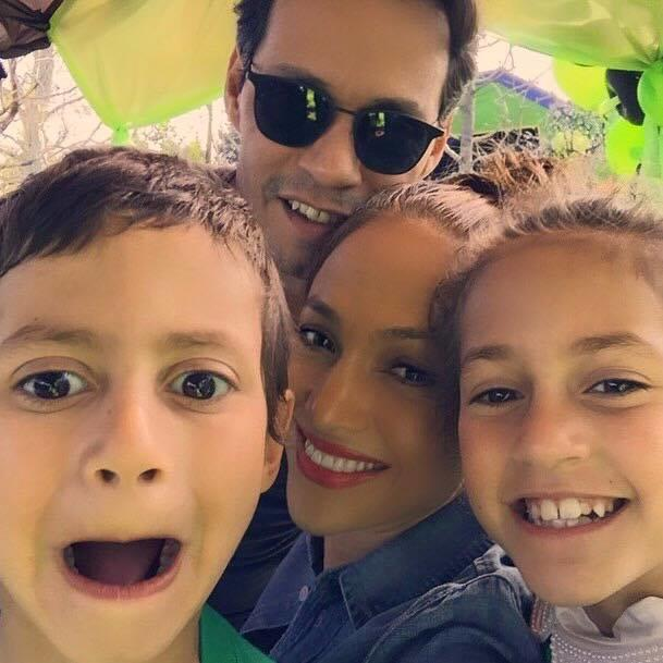 Jennifer López, Marc Anthony, Emme y Max