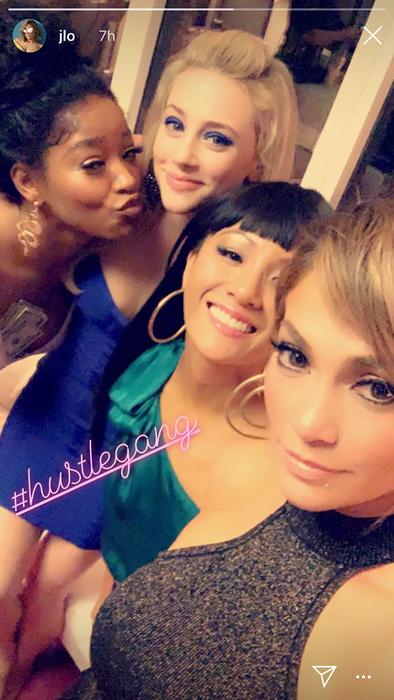 Jennifer Lopez selfie Hustlers