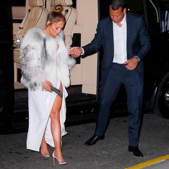 Jennifer Lopez con Alex Rodriguez