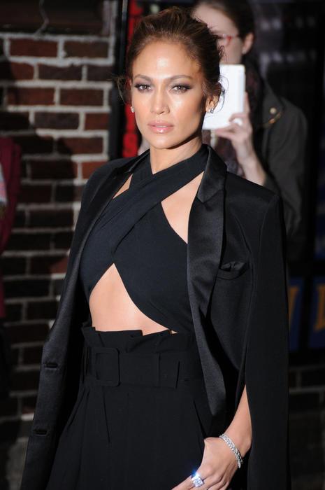 Jennifer Lopez en Nueva York 2015.
