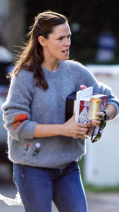 Jennifer Garner enojada