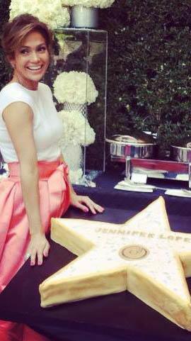 Jennifer Lopez recibe su estrella en el Paseo de la Fama en Hollywood, 2013