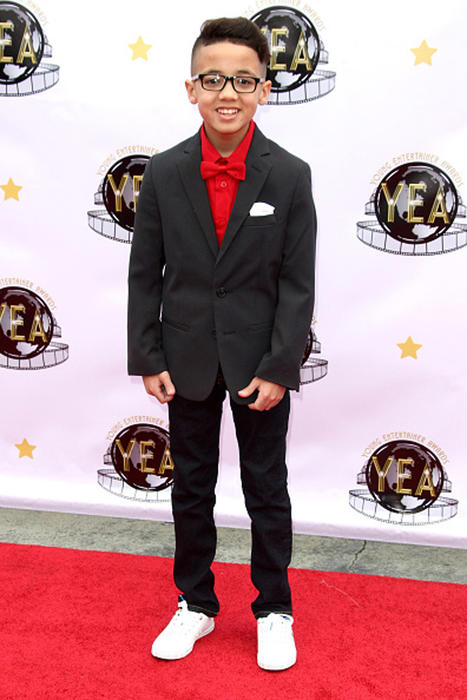 Jonael Santiago en los Annual Young Entertainer Awards en California 2016