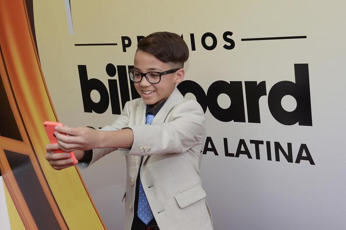 Jonael Santiago en los Premios Billboard 2016