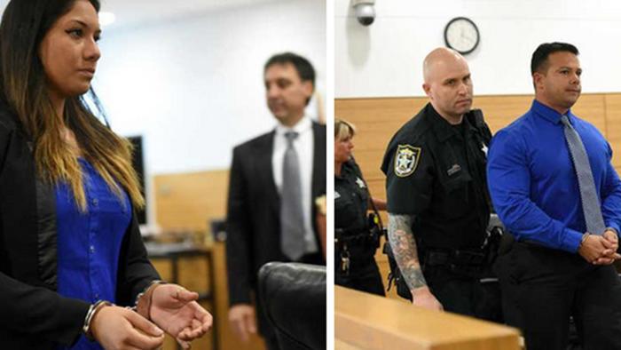 Jose Caballero y Elissa Alvarez arrestados