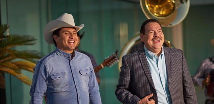 Julión Álvarez y Julio Preciado Cariñito Cariñito 2016 foto Instagram