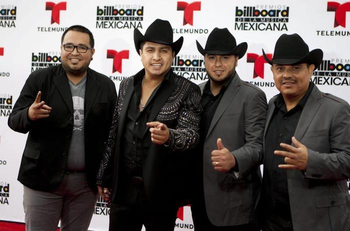 Julión Alvarez y Su Norteño Banda in the 2014 Latin Billboard Mexican Music Awards