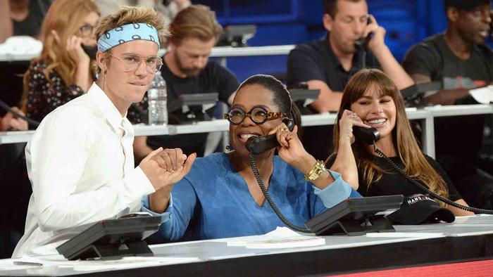 Justin Bieber, Oprah Winfrey y Sofia Vergara reciben llamadas en Hand in Hand: A Benefit for Hurricane Relief
