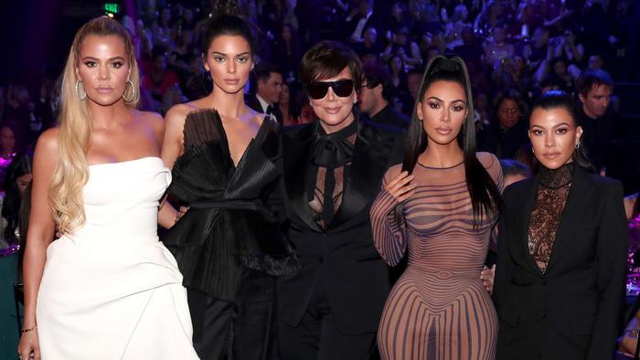 Las Kardashians posando