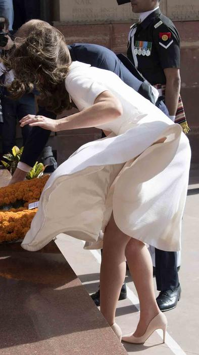 Kate Middleton en India