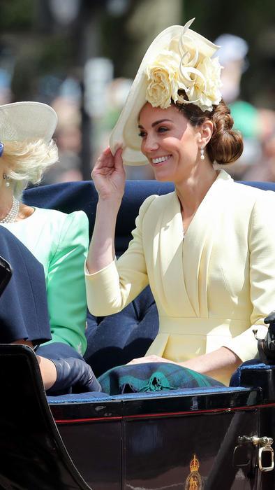 Kate Middleton en el Trooping the Color 2019