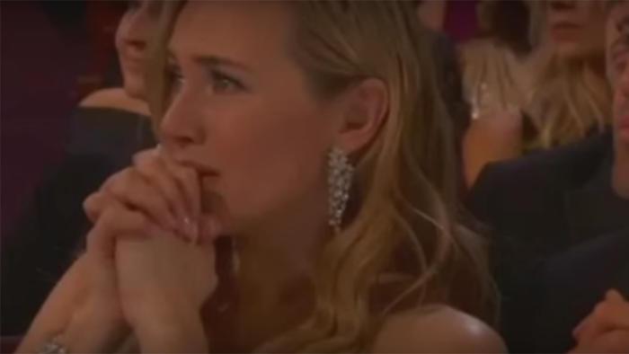Kate Winslet en los Premios Oscar 2016.