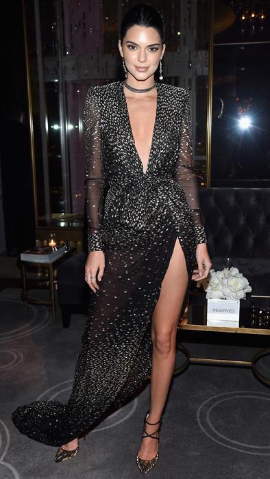 Kendall Jenner en el evento de Harper's Bazaar