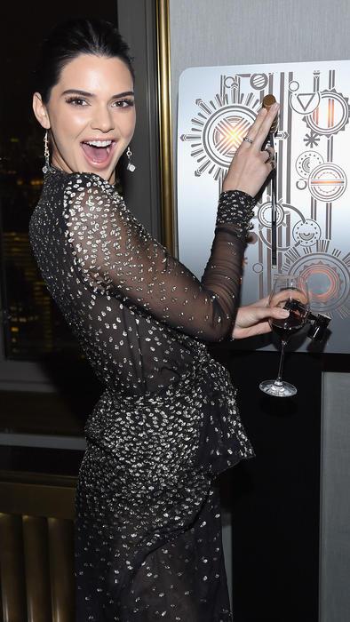 Kendall Jenner sonriente