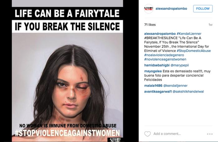 Kendall Jenner maltratada con Photoshop
