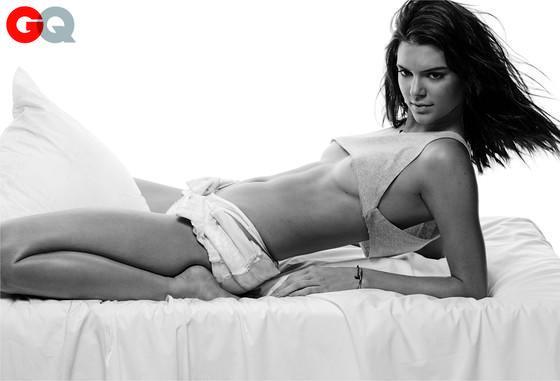 Kendall Jenner para la revista GQ