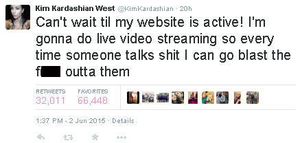 El Tweet de Kim Kardashian de junio 2