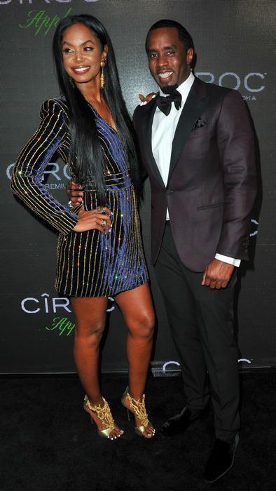 Kim Porter y Diddy
