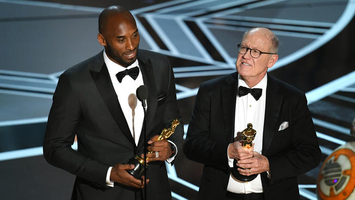Kobe Bryant en los Premios Oscar 2018