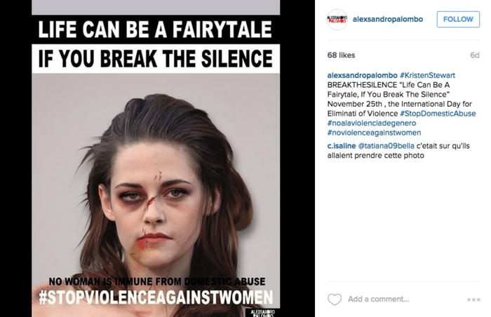 Kristen Stewart luce maltratada con Photoshop