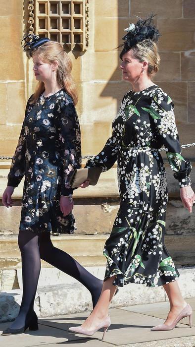 Sophie, condesa de Wessex, y su hija Lady Louise Windsor