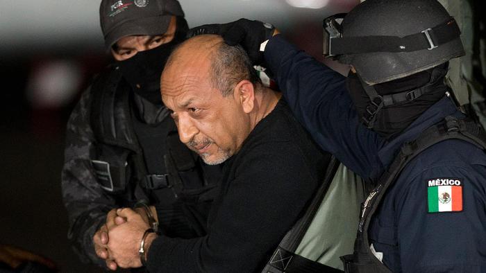 """Servando """"La Tuta"""" Gómez capturado en febrero de 2015"""