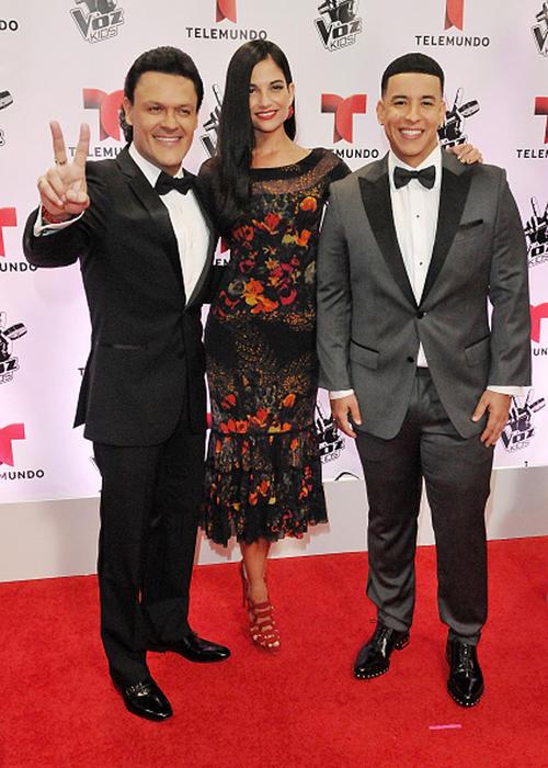 La Voz Kids final 2015 Pedro Fernández Natalia jiménez y Daddy Yankee