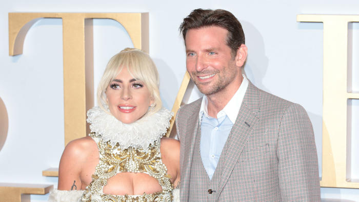 """Lady Gaga y Bradley Cooper, de """"A Star is Born"""""""