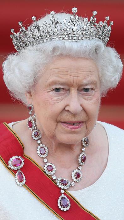 La reina Elizabeth II