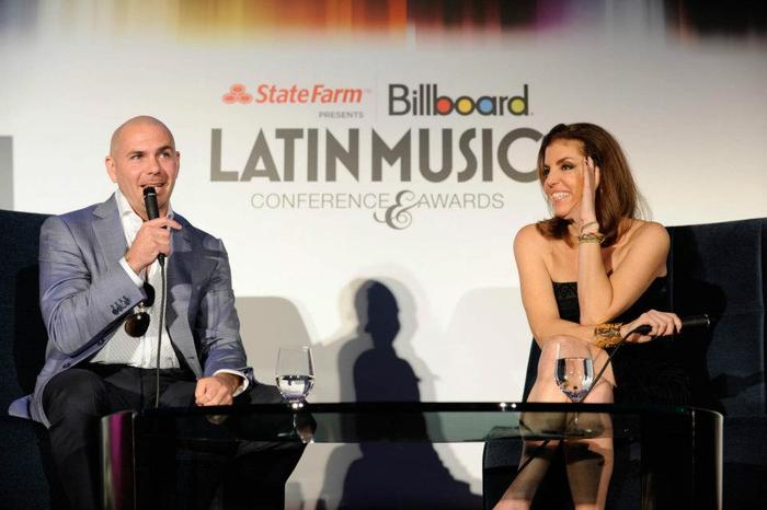 Leila Cobo, Pitbull, Q&A de la Conferencia Premios Billboard de la Música Latina, 2012