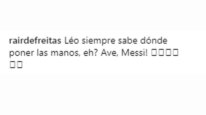 Comentarios fans de Leo Messi