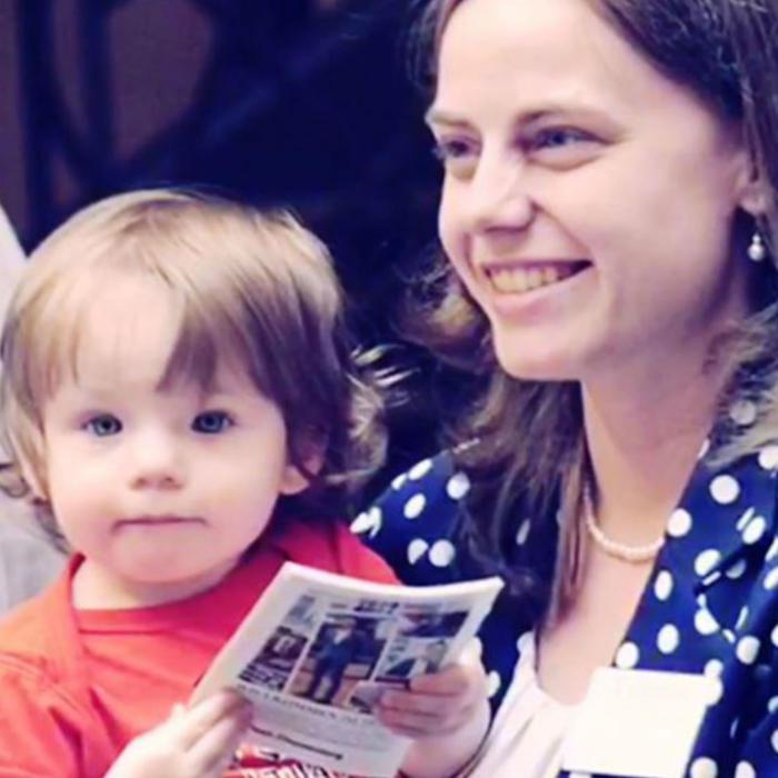 Lisa Smith y su hija