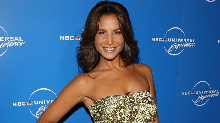 Lorena Rojas en la NBC Universal Experience en la ciudad de Nueva York en 2008