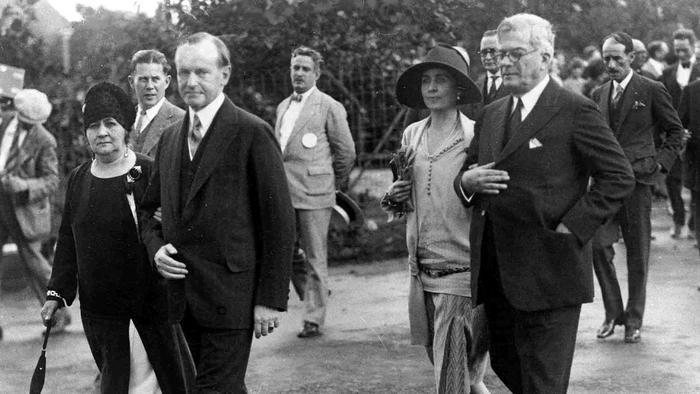 Los presidentes caminan en La Habana