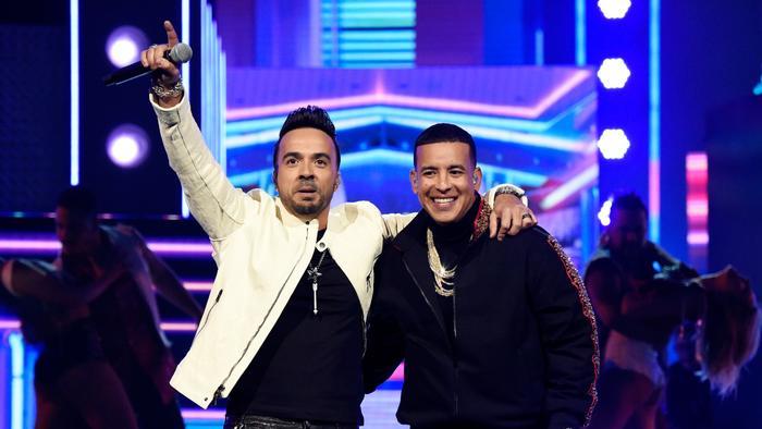 Luis Fonsi y Daddy Yankee en Annual GRAMMY Awards 2018
