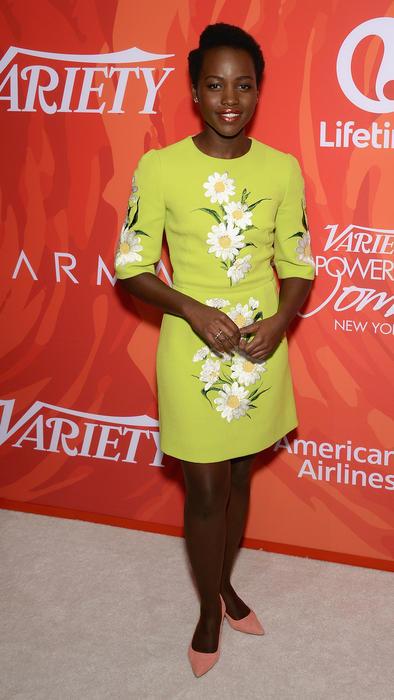 Lupita Nyong'o en el evento Variety's Power Of Women: New York 2016
