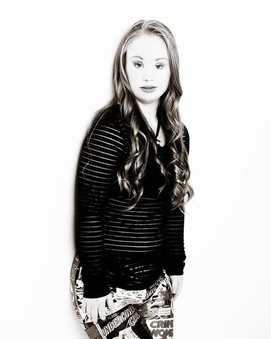 Madeline Stuart la modelo con Síndrome de Down