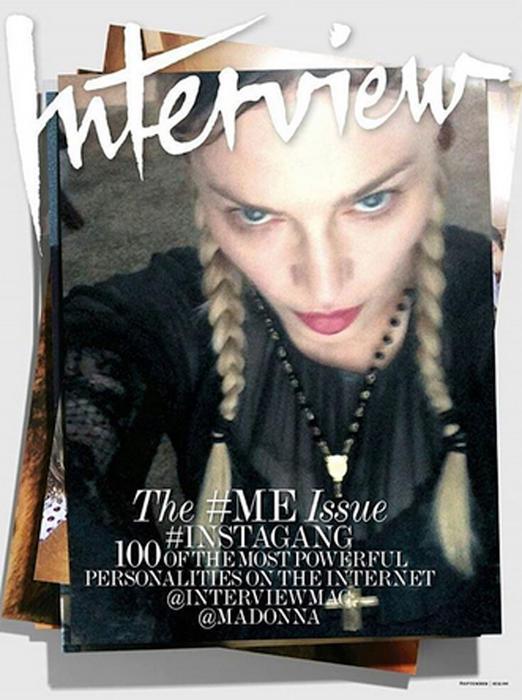 Madonna para la revista Interview