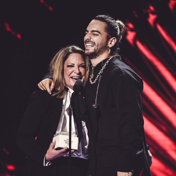 Maluma en los Latin American Music Awards 2018