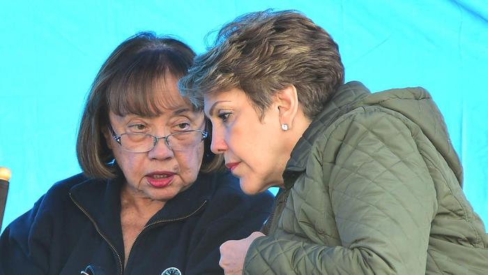 La mamá de Jennifer Lopez y la de Alex Rodriguez