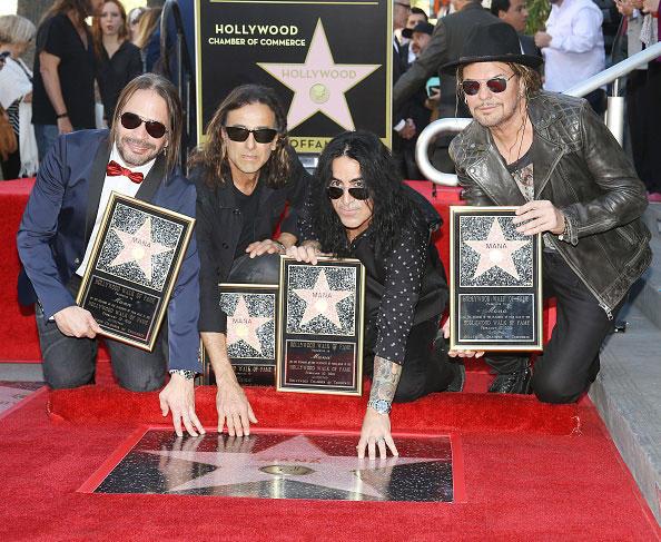 Mana Estrella Paseo de la Fama Hollywood