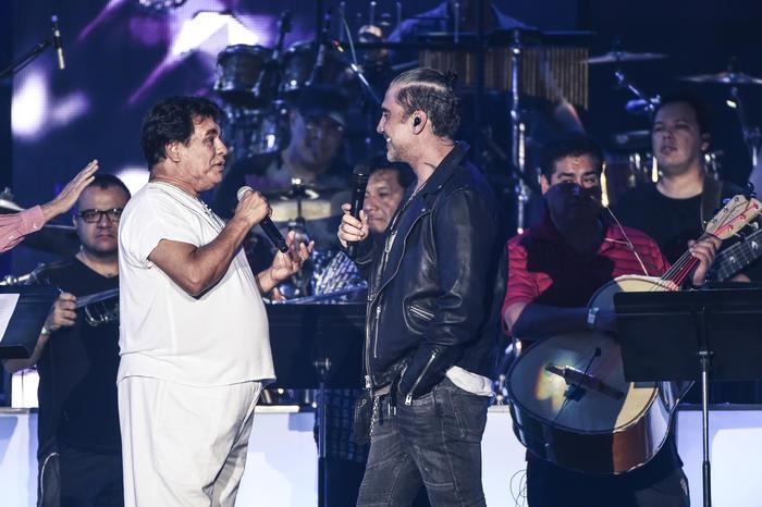 Juan Gabriel y Alejandro Fernández ensayos Premios Billboard 2016